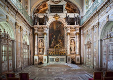 Tinity Chapel, Chateau de fontainebleau, France Stock Images