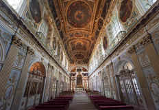Tinity-Kapelle, Chateaude Fontainebleau, Frankreich Lizenzfreies Stockfoto