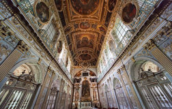 Tinity kaplica, górska chata de Fontainebleau, Francja Fotografia Royalty Free