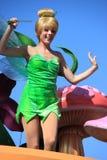 Tinker Bell at Disneyland. Anaheim, California, USA - May 30, 2014: Tinker Bell from Peter Pan in Disney Parade at Disneyland Stock Photos