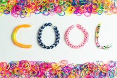 Tinker Loom Bracelet Stock Photo