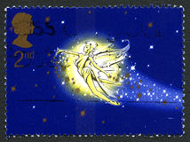 Tinkerbell UK Postage Stamp Royalty Free Stock Image