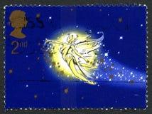 Tinkerbell UK znaczek pocztowy obraz royalty free