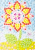 Tinkered flower Stock Photo