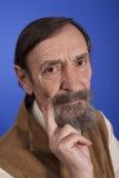 Tinking senior man Royalty Free Stock Photo