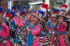 Tinku Dance Group - Arica, Chile Stock Image
