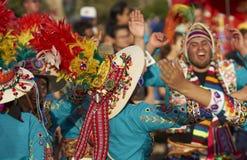 Tinku Dance Group - Arica, Chile Royalty Free Stock Photo