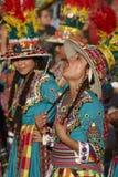 Tinku Dance Group - Arica, Chile Stock Photo