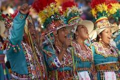 Tinku Dance Group - Arica, Chile Stock Photos