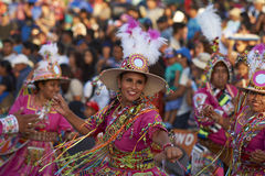 Tinku Dance Group - Arica, Chile Royalty Free Stock Photos