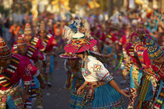 Tinku Dance Group - Arica, Chile Royalty Free Stock Image