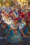 Tinku Dance Group - Arica, Chile Stock Photo