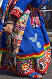 Tinku Dance Group - Arica, Chile Royalty Free Stock Image
