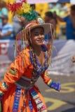 Tinku-Tanz-Gruppe - Arica, Chile Lizenzfreies Stockfoto