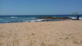 Tinley rezydenci ziemskiej plaża Zdjęcie Stock