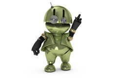 Tinman Got the Idea Eventually Royalty Free Stock Image