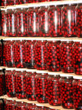 The tinned cherry Royalty Free Stock Images