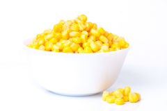 Tinned corn Royalty Free Stock Images