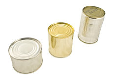 Tinned food Royalty Free Stock Image
