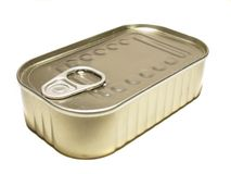 Tinned Food Royalty Free Stock Photo