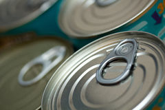 Tinned Food Stock Photo