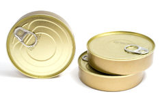 Tinned goods Royalty Free Stock Image