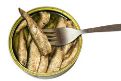 Tinned goods royalty free stock images