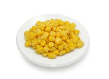 Tinned maize Royalty Free Stock Photography