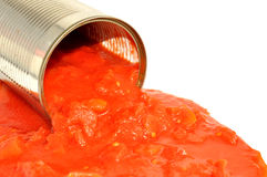 Tinned Tomatoes Royalty Free Stock Photo
