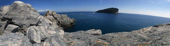Tino island panorama Royalty Free Stock Photo