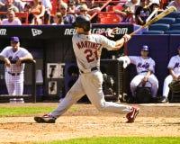 Tino Martinez St Louis Cardinals Fotografering för Bildbyråer