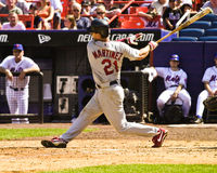 Tino Martinez, St. Louis Cardinals Stock Image