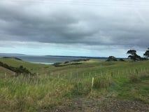 Tino Pai Kaipara hamn, Nya Zeeland Royaltyfri Fotografi