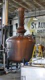 Tino in una distilleria a St Augustine fotografia stock