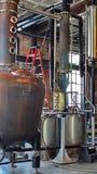 Tino in una distilleria a St Augustine fotografia stock libera da diritti