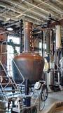 Tino in una distilleria a St Augustine immagine stock