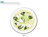 Tinola or Palauan Chicken Soup, Popular Dish in Palau Royalty Free Stock Images