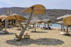 Tinos island beach royalty free stock image