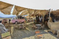 Tinos island beach stock photos