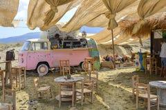 Tinos island beach royalty free stock photo