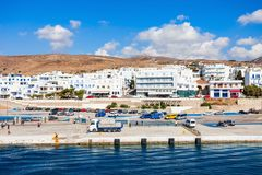 Tinos island in Greece Stock Images