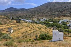 Tinos island royalty free stock photo