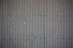 Tinplate. Corrugated iron (sheet); tinplate; background Royalty Free Stock Photos