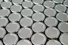 Tins Royalty Free Stock Image