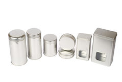 Tins Stock Photography