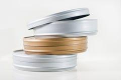 tins för film tre royaltyfri bild