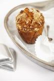 tins för oats för muffin för cakemorot sunda Royaltyfri Foto