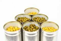 The tins Stock Image