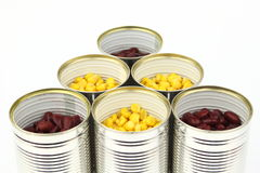 The tins Royalty Free Stock Images