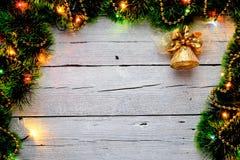 Tinsel Χριστουγέννων Στοκ Εικόνες